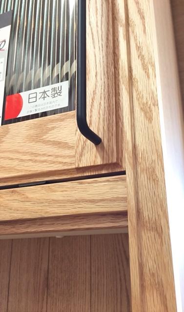 上台木部とデザインガラス