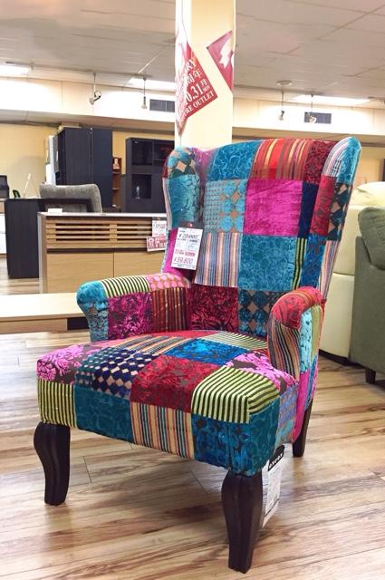 ※アウトレットで超魅力的な1Pソファ、Get箕面店に入荷。