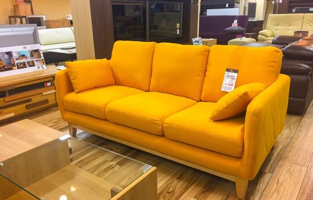 ☆大阪|Get箕面店にコンパクト家具のソファが新入荷‼️