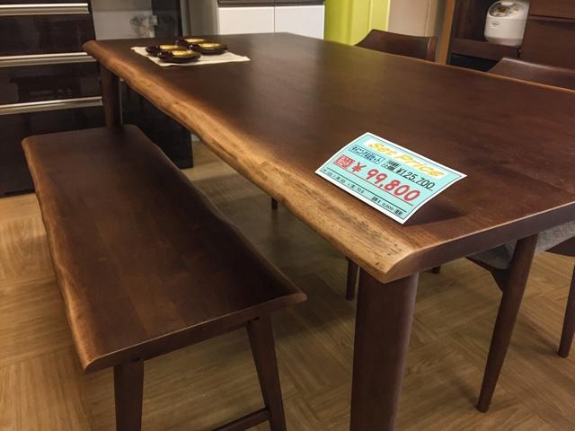 テーブルとチェアの組み合わせは自由