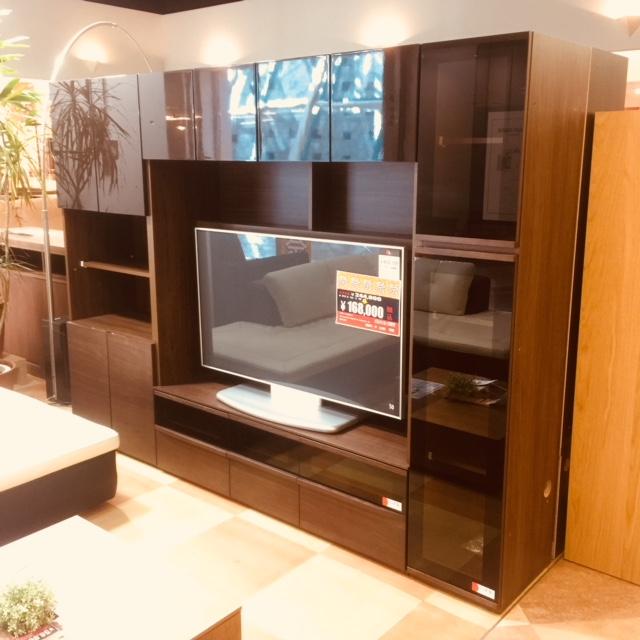 ウォールナット国産TVボード Get神戸