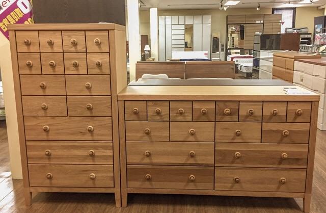 天然木オーク材 無垢材 アウトレット家具