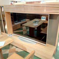 【Get神戸】高さ168cmのミドルハイTVボード、大型TVもOK!