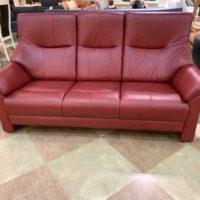 【Get神戸】レッド色のハイバックソファが特別価格!
